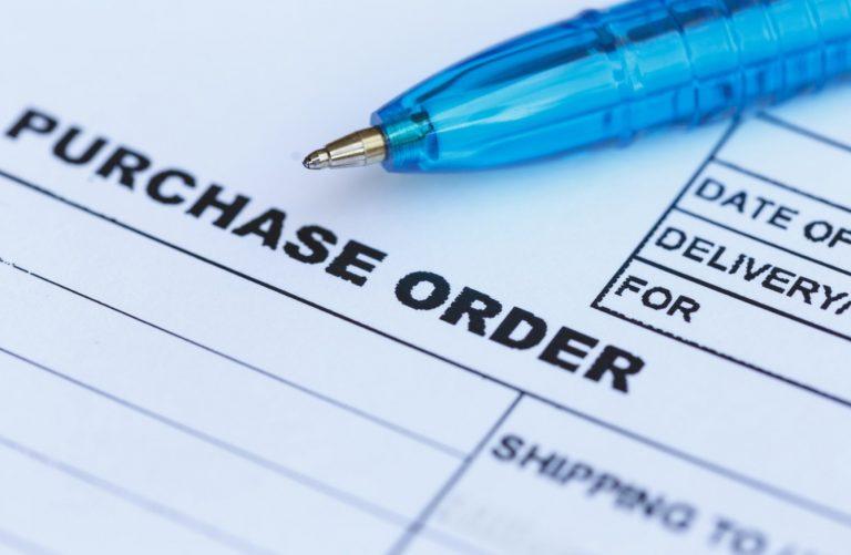 purchase ordeer
