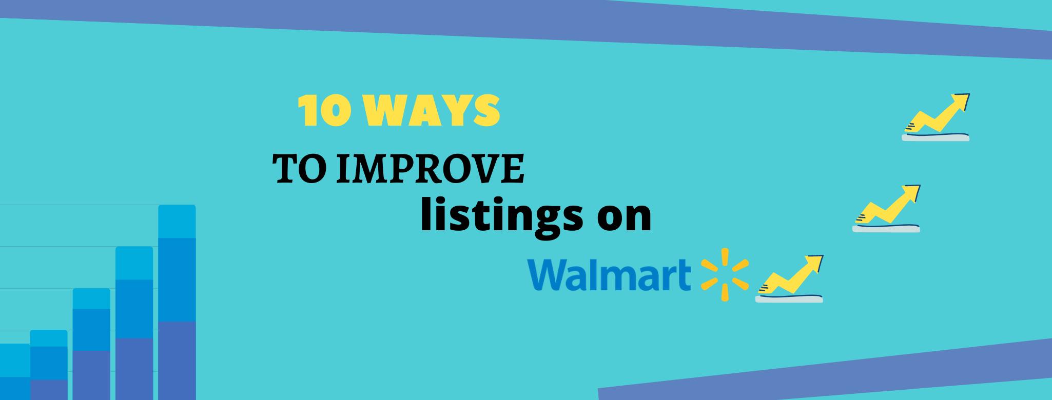 listings on walmart