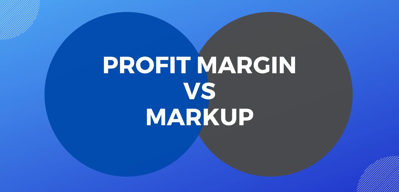 margin and markup