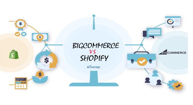 Selling on BicCommerce VS SHopiify
