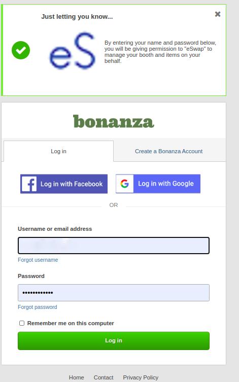 bonanza integration
