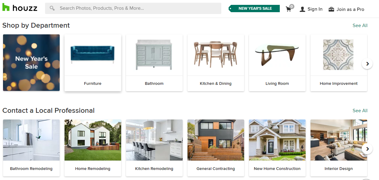 sell on houzz