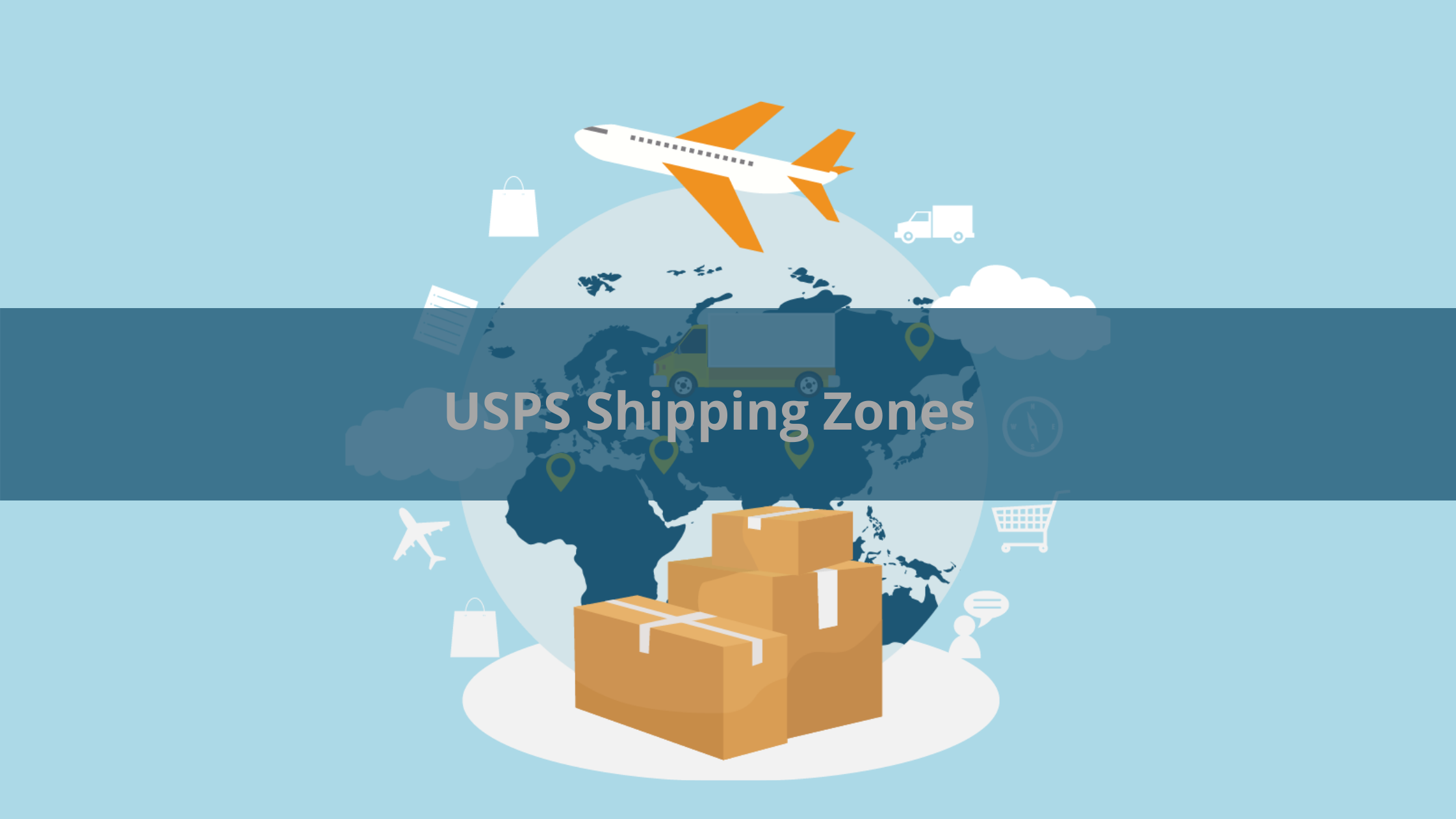 usps shipping zones