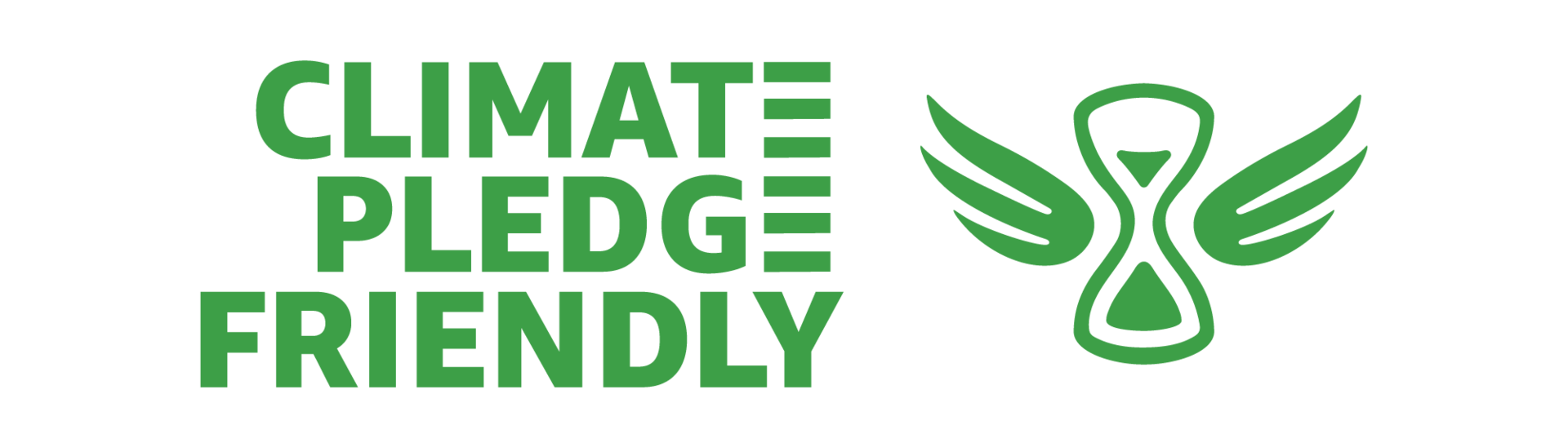 Amazon's Climate Pledge Friendly badge
